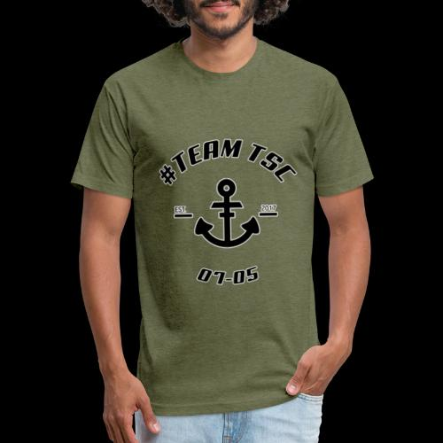 TSC Nautical - Fitted Cotton/Poly T-Shirt by Next Level