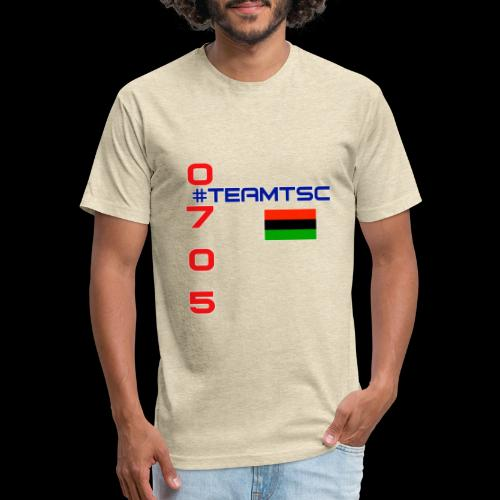 TSC RBG 1 - Fitted Cotton/Poly T-Shirt by Next Level
