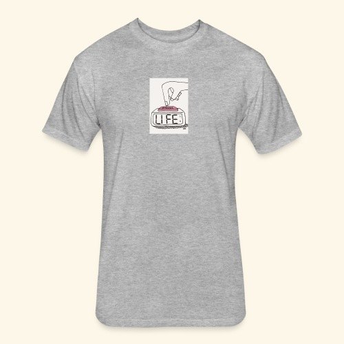 Mood - Fitted Cotton/Poly T-Shirt by Next Level