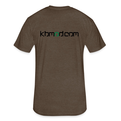 kbmoddotcom - Fitted Cotton/Poly T-Shirt by Next Level