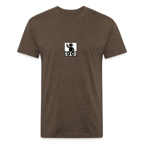 f50a7cd04a3f00e4320580894183a0b7 - Fitted Cotton/Poly T-Shirt by Next Level