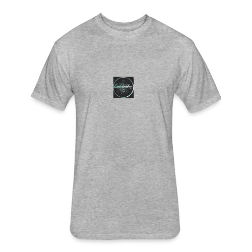 Originales Co. Blurred - Fitted Cotton/Poly T-Shirt by Next Level