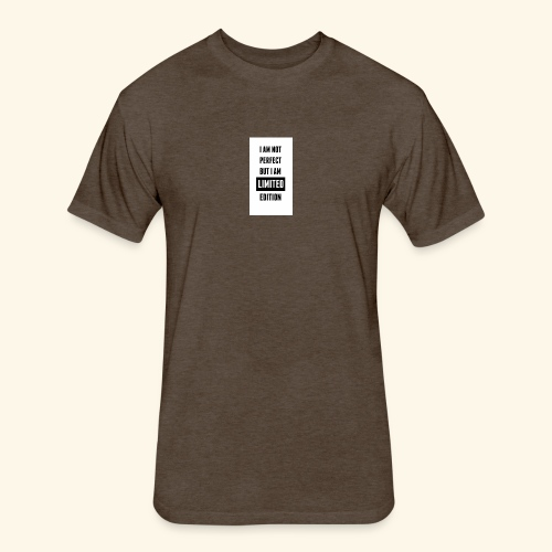 One of a kind - Fitted Cotton/Poly T-Shirt by Next Level