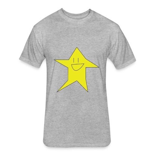 Stari The Shirt! - Fitted Cotton/Poly T-Shirt by Next Level