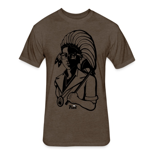 TwoLives - 7thGen - Fitted Cotton/Poly T-Shirt by Next Level