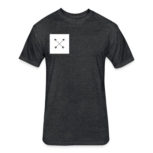 arrows - Fitted Cotton/Poly T-Shirt by Next Level