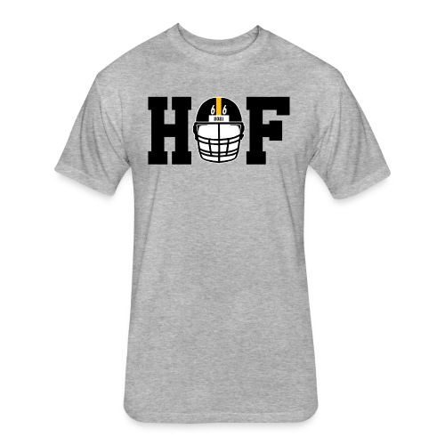 HOF 66 (On Light) - Fitted Cotton/Poly T-Shirt by Next Level