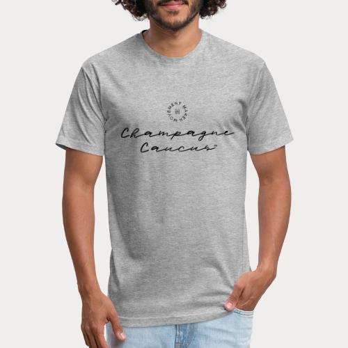 Champagne Caucus - Fitted Cotton/Poly T-Shirt by Next Level