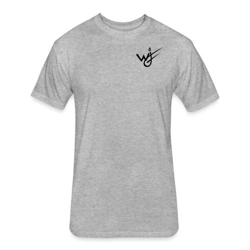 NewestWJFlogo - Fitted Cotton/Poly T-Shirt by Next Level