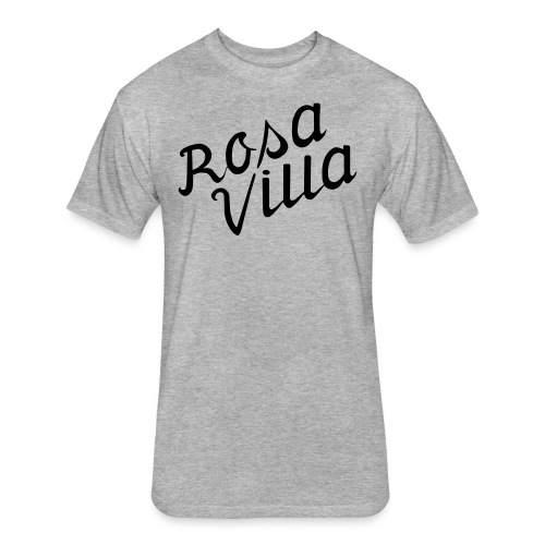 rosa villa - Fitted Cotton/Poly T-Shirt by Next Level