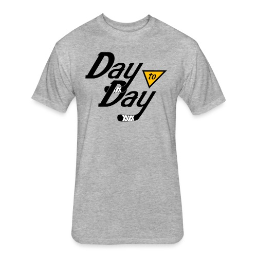 Day to Day - Fitted Cotton/Poly T-Shirt by Next Level