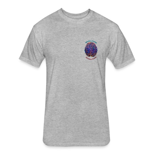 IntellTuss Shirt (pocket design) - Fitted Cotton/Poly T-Shirt by Next Level