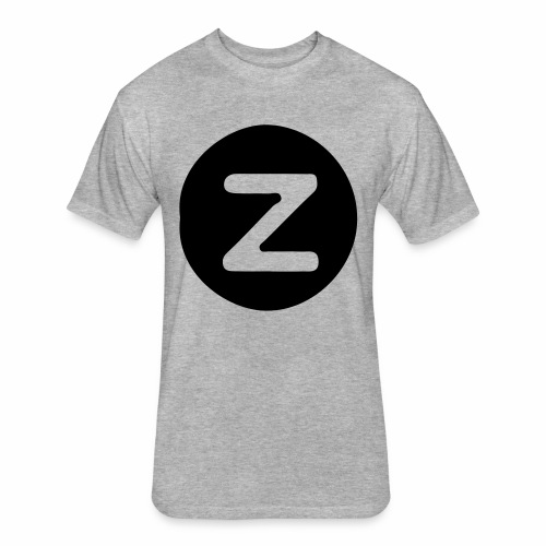 z logo - Fitted Cotton/Poly T-Shirt by Next Level