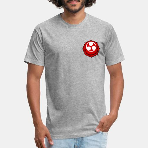 Larose Karate Logo - Fitted Cotton/Poly T-Shirt by Next Level