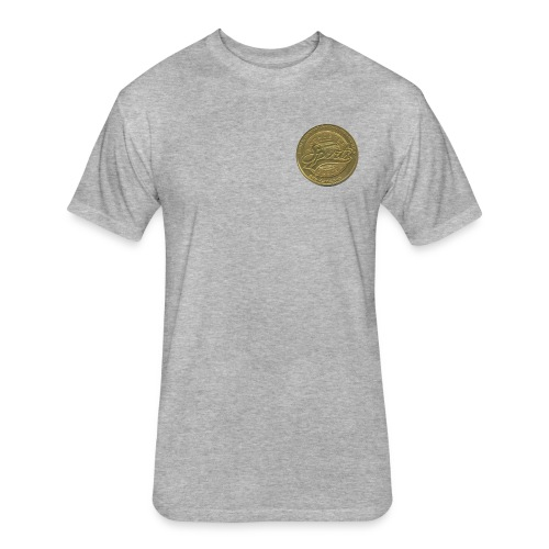 Sports Garden Token - Fitted Cotton/Poly T-Shirt by Next Level