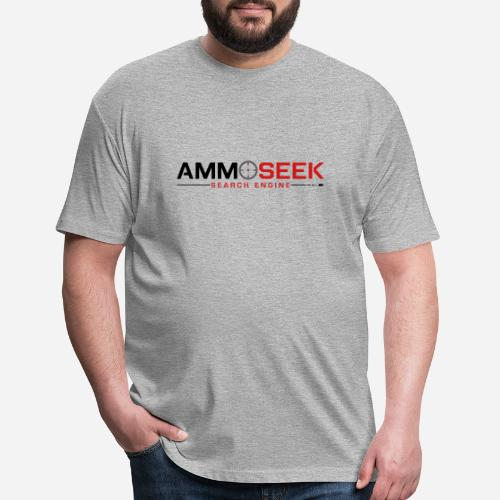 AmmoSeek_PrintLogo_Transp - Fitted Cotton/Poly T-Shirt by Next Level