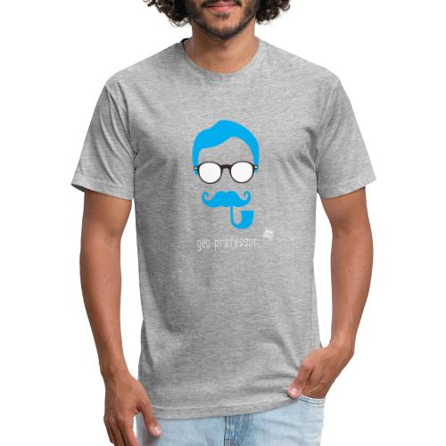 Geo Professor - Fitted Cotton/Poly T-Shirt by Next Level