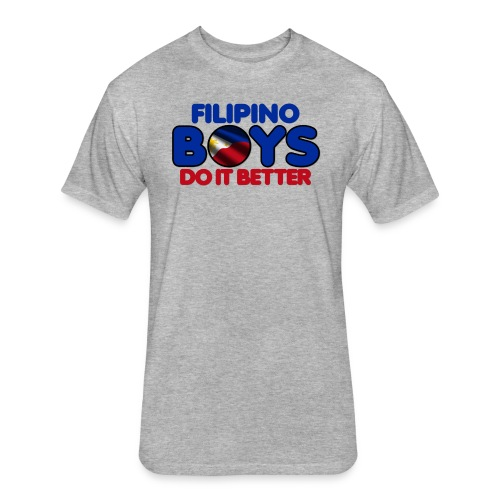 2020 Boys Do It Better 05 Filipino - Fitted Cotton/Poly T-Shirt by Next Level