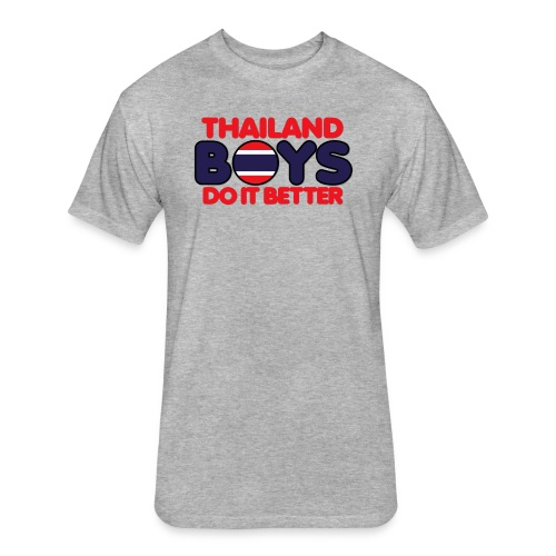 2020 Boys Do It Better 06 Thailand - Fitted Cotton/Poly T-Shirt by Next Level