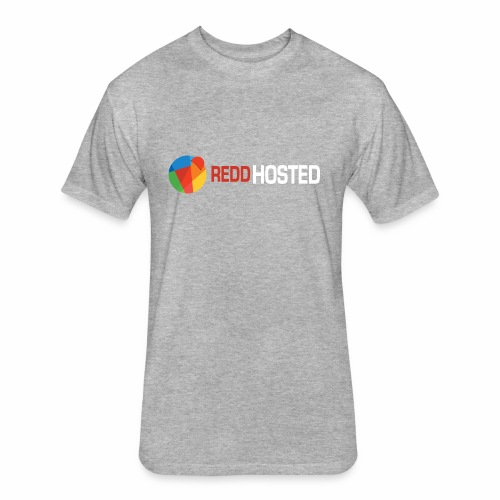 REDDHOSTED LOGO - Fitted Cotton/Poly T-Shirt by Next Level
