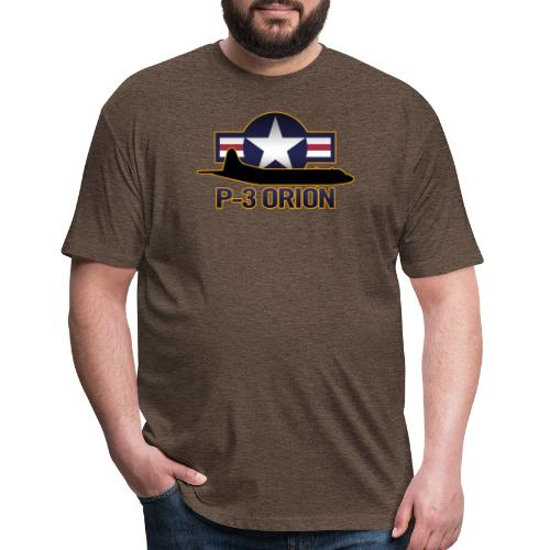 P-3 Orion - Fitted Cotton/Poly T-Shirt by Next Level