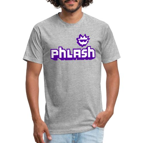 phlash itch - Fitted Cotton/Poly T-Shirt by Next Level