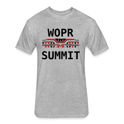 WOPR Summit 0x0 RB - Fitted Cotton/Poly T-Shirt by Next Level