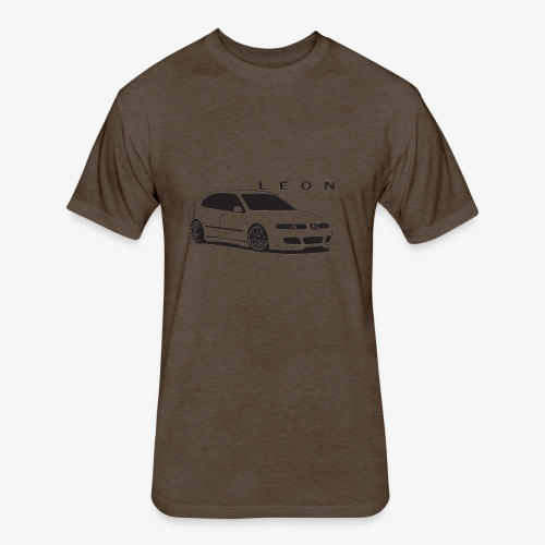 Seat LEON mk1 cupra - Fitted Cotton/Poly T-Shirt by Next Level