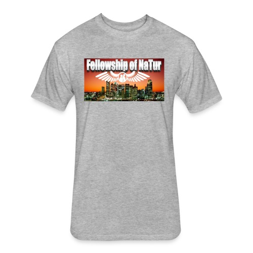 Fellowship - Fitted Cotton/Poly T-Shirt by Next Level