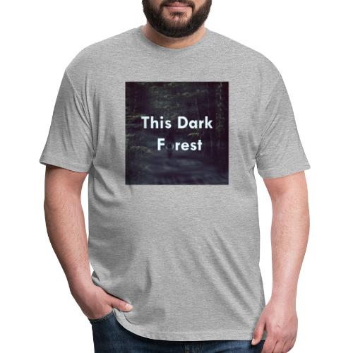 This Dark Forest - Fitted Cotton/Poly T-Shirt by Next Level