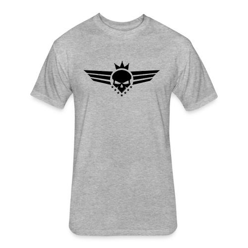 Skull Crown Logo - Fitted Cotton/Poly T-Shirt by Next Level