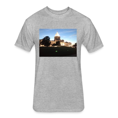 Arkansas - Fitted Cotton/Poly T-Shirt by Next Level