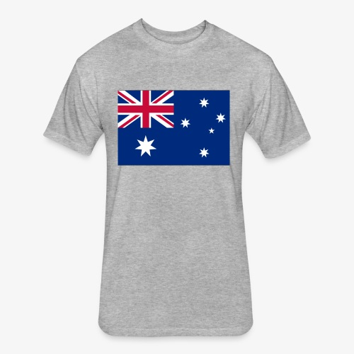 Bradys Auzzie prints - Fitted Cotton/Poly T-Shirt by Next Level
