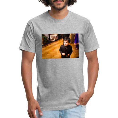 Aryan - Fitted Cotton/Poly T-Shirt by Next Level