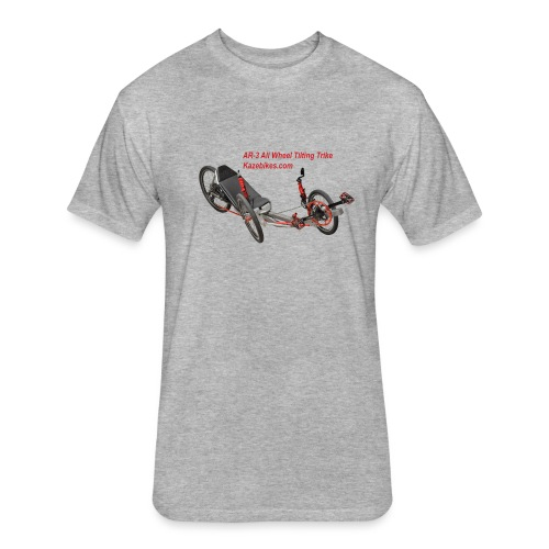 AR-3 All wheel Tilting Trike - Fitted Cotton/Poly T-Shirt by Next Level