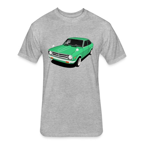corolla - Fitted Cotton/Poly T-Shirt by Next Level