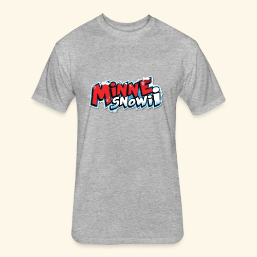 MinneSnowii Official Logo1 Web - Fitted Cotton/Poly T-Shirt by Next Level