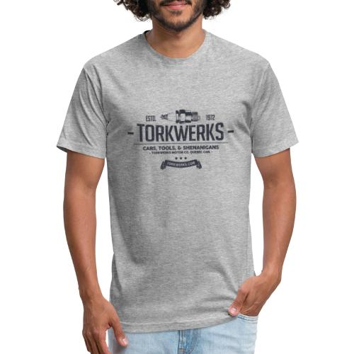 Torkwerks Spark - Fitted Cotton/Poly T-Shirt by Next Level