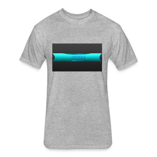 pengo - Fitted Cotton/Poly T-Shirt by Next Level