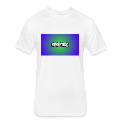 memestick symbol - Fitted Cotton/Poly T-Shirt by Next Level