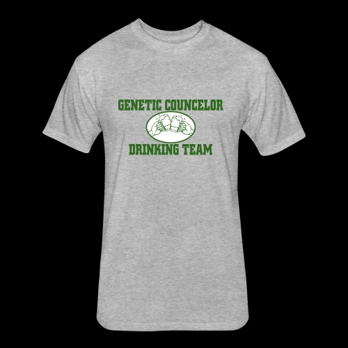 genetic counselor drinking team - Fitted Cotton/Poly T-Shirt by Next Level