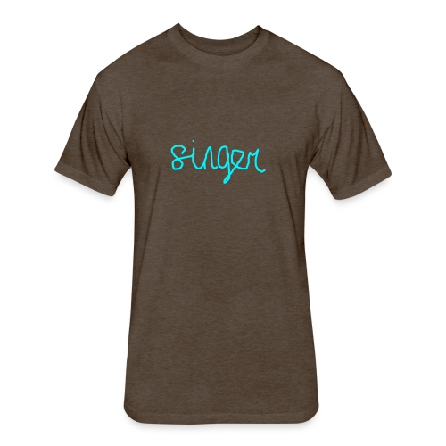 SINGER - Fitted Cotton/Poly T-Shirt by Next Level