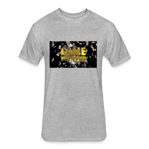 Game the gamer sweater - Fitted Cotton/Poly T-Shirt by Next Level