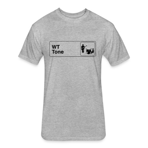 WT Tone Office Logo - Light - Fitted Cotton/Poly T-Shirt by Next Level