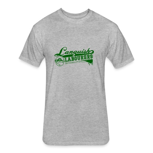 Languish Labourer's Baseball - Fitted Cotton/Poly T-Shirt by Next Level
