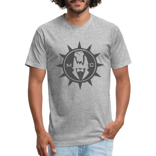 BW Image V2 - Fitted Cotton/Poly T-Shirt by Next Level