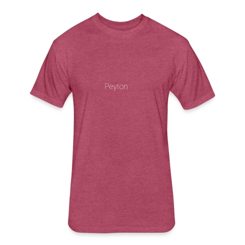 PEYTON Special - Fitted Cotton/Poly T-Shirt by Next Level