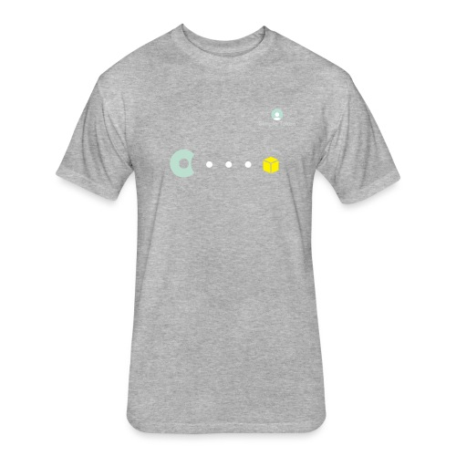 SimpleToken Pacman by Titus - Fitted Cotton/Poly T-Shirt by Next Level