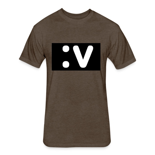 LBV side face Merch - Fitted Cotton/Poly T-Shirt by Next Level