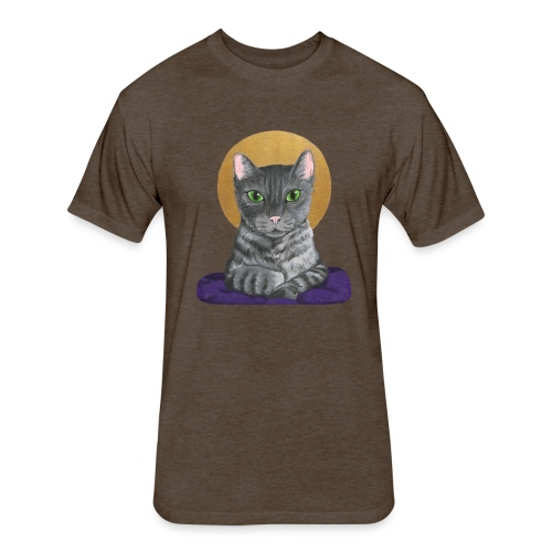 Lord Catpernicus - Fitted Cotton/Poly T-Shirt by Next Level